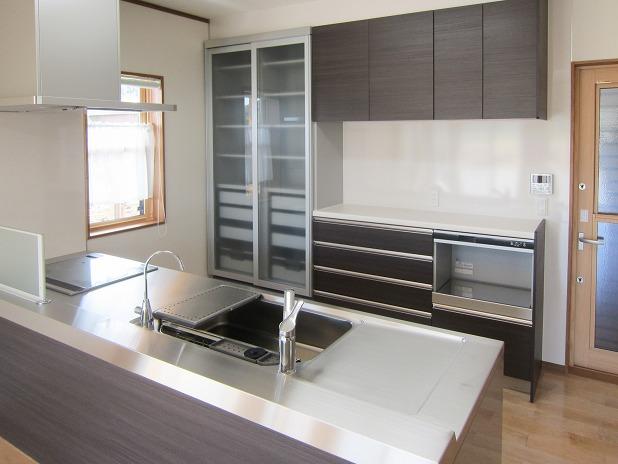 田原市ここちeeハウス機能性キッチン