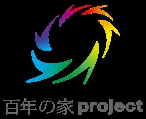 田原市ここちeeハウス百年の家プロジェクトロゴ