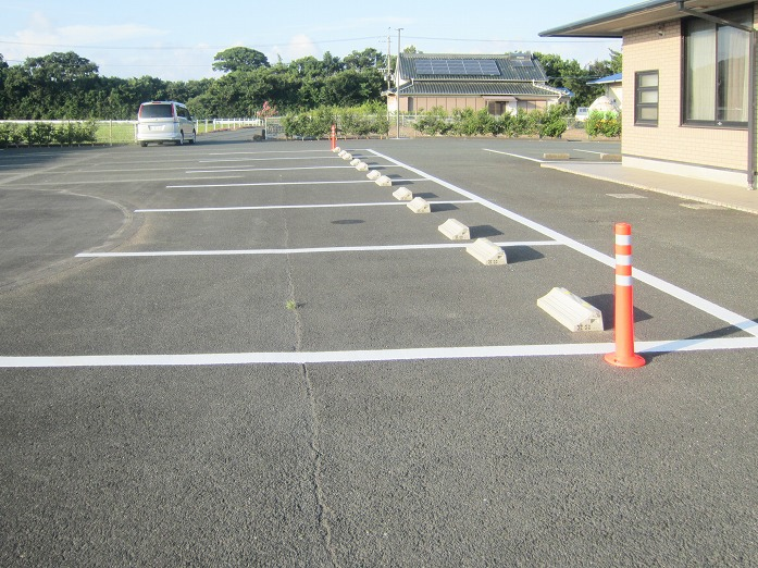 田原市ここちeeハウス駐車場整備