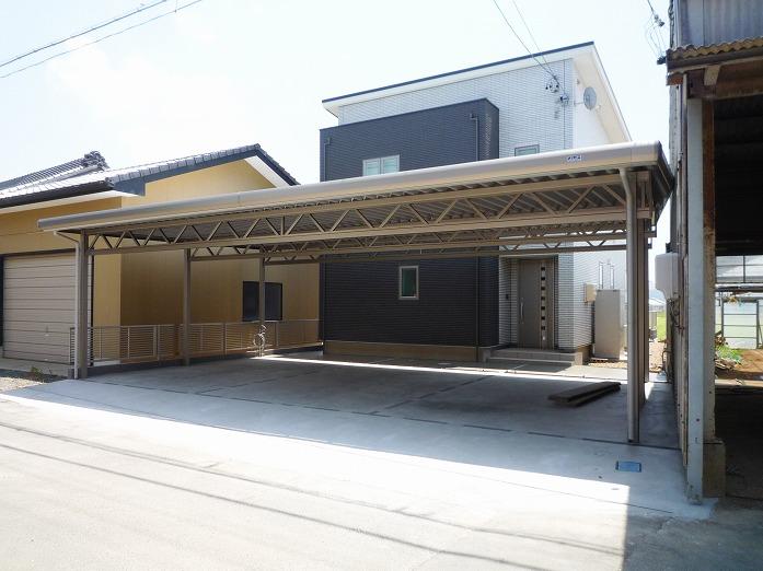 田原市ここちeeハウス車庫